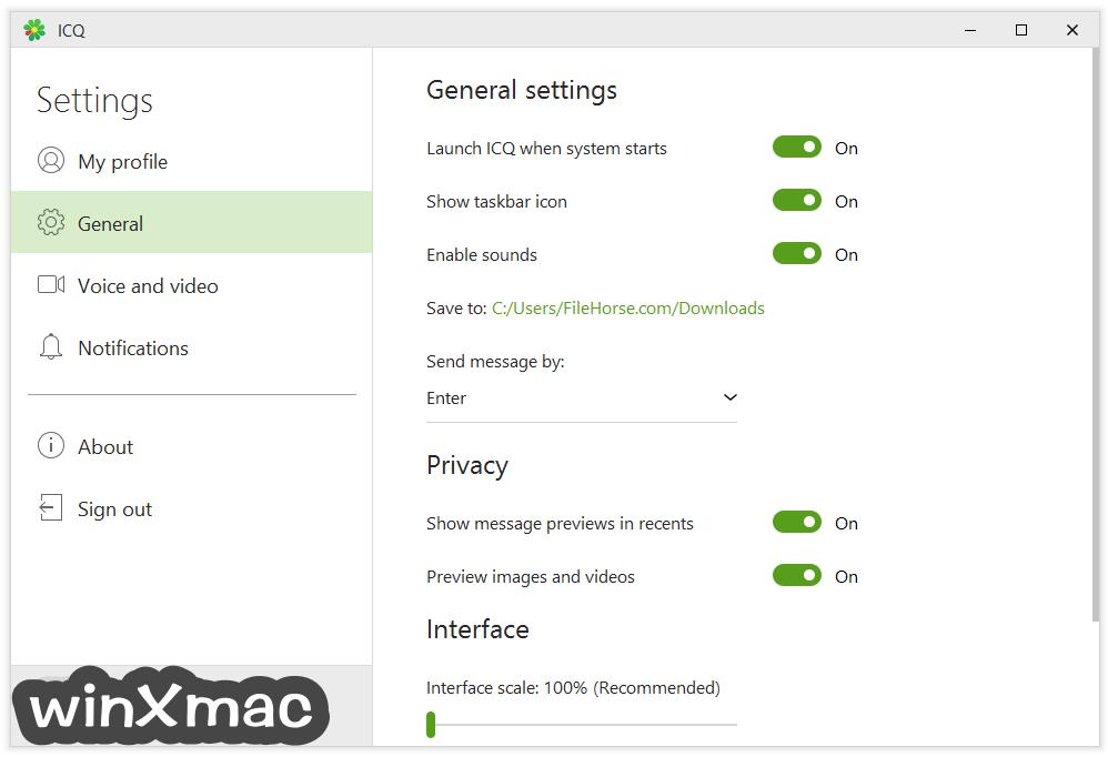 ICQ Screenshot 5