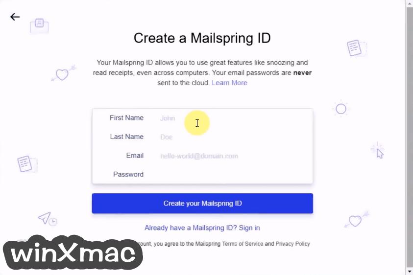 Mailspring Screenshot 2