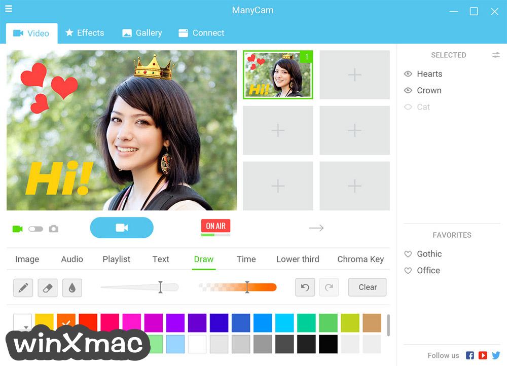 ManyCam Screenshot 5