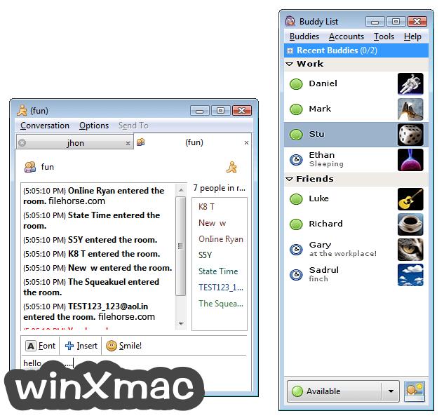 Pidgin Screenshot 1
