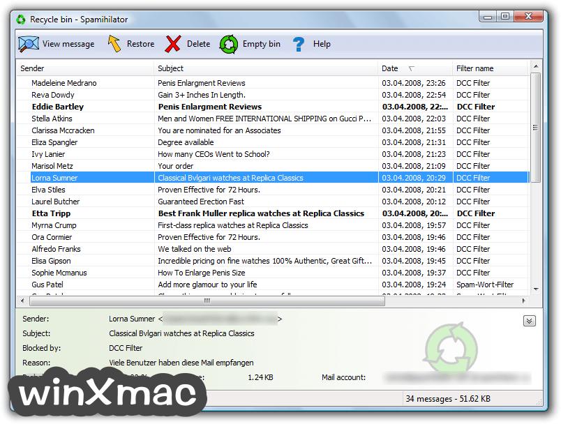 Spamihilator (32-bit) Screenshot 1