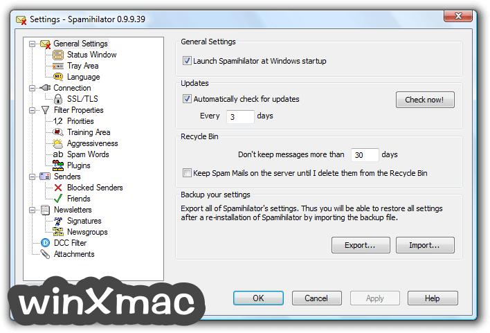 Spamihilator (32-bit) Screenshot 4