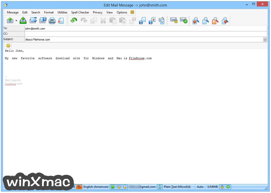 The Bat! Professional (32-bit) Screenshot 3