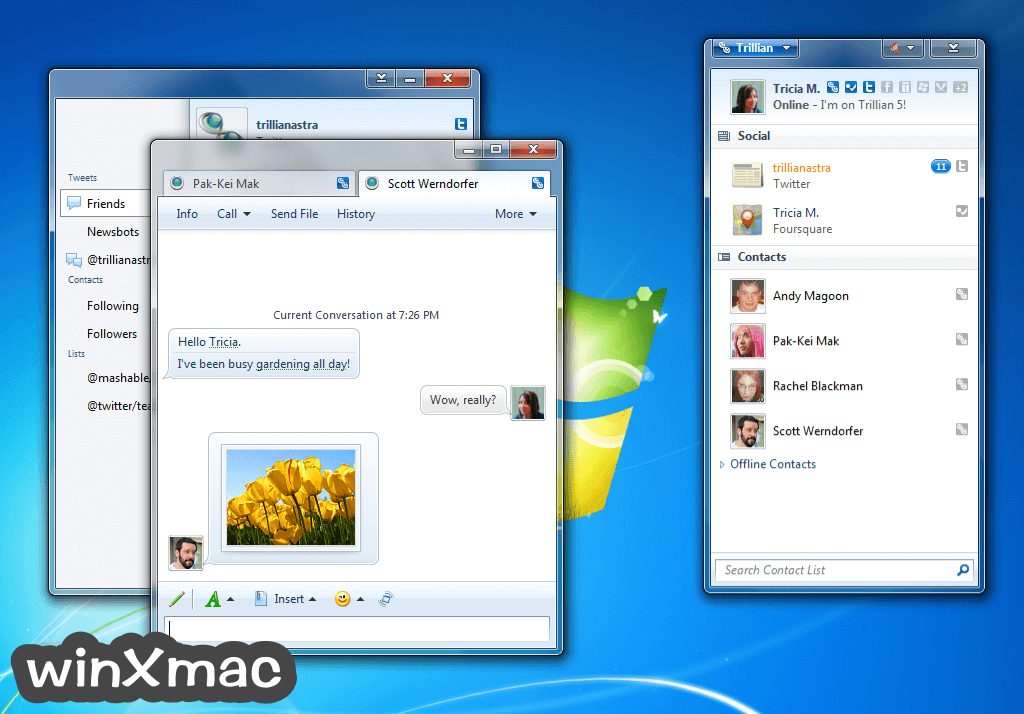 Trillian Screenshot 1