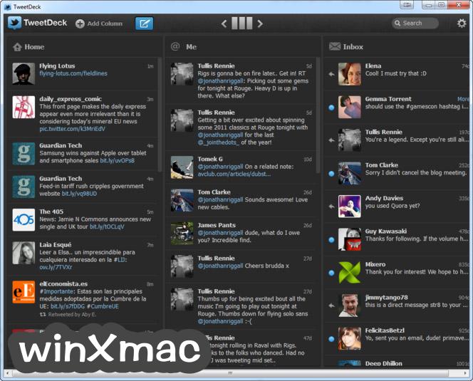 TweetDeck Screenshot 3