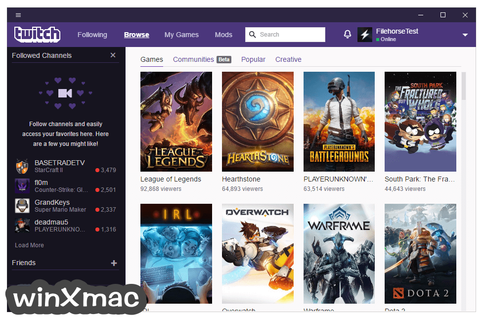 Twitch Desktop App Screenshot 3