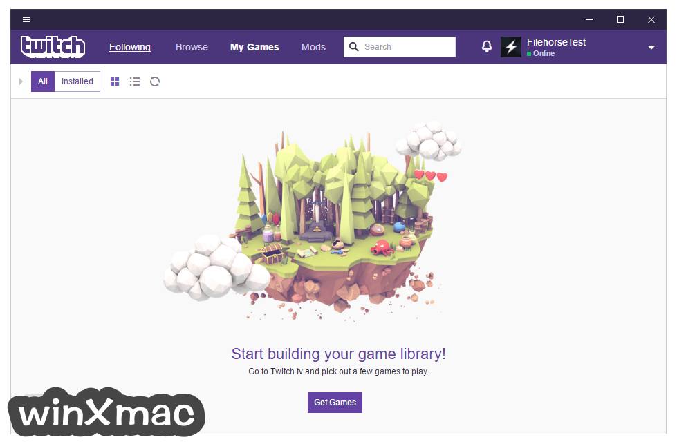 Twitch Desktop App Screenshot 4