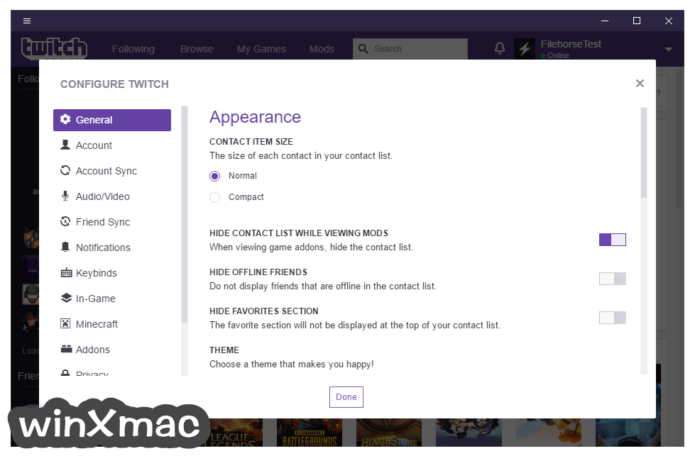 Twitch Desktop App Screenshot 5