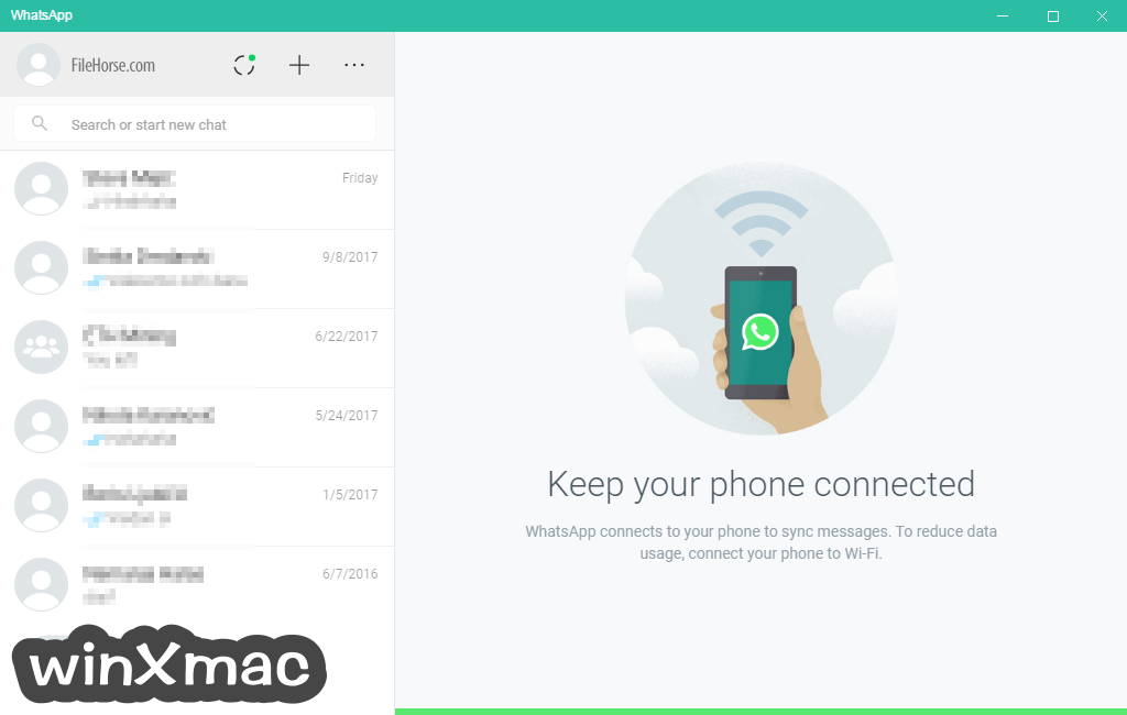 WhatsApp for Windows (64-bit) Screenshot 1