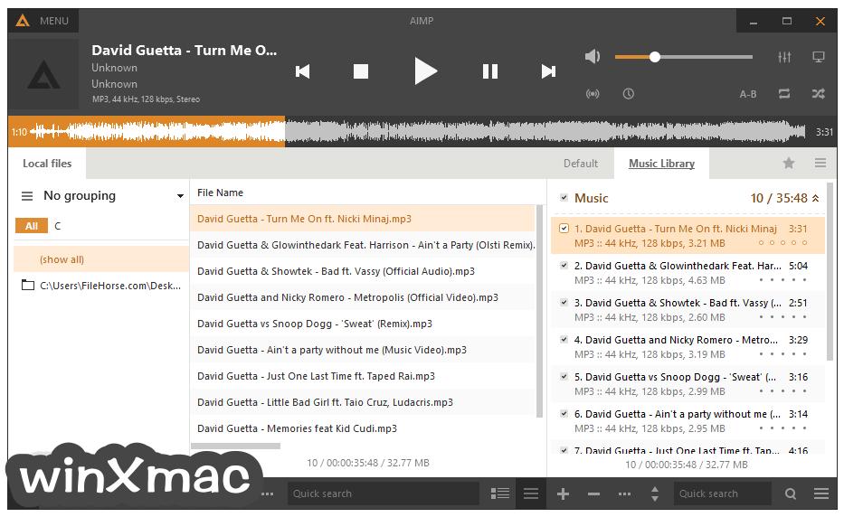 AIMP Screenshot 1