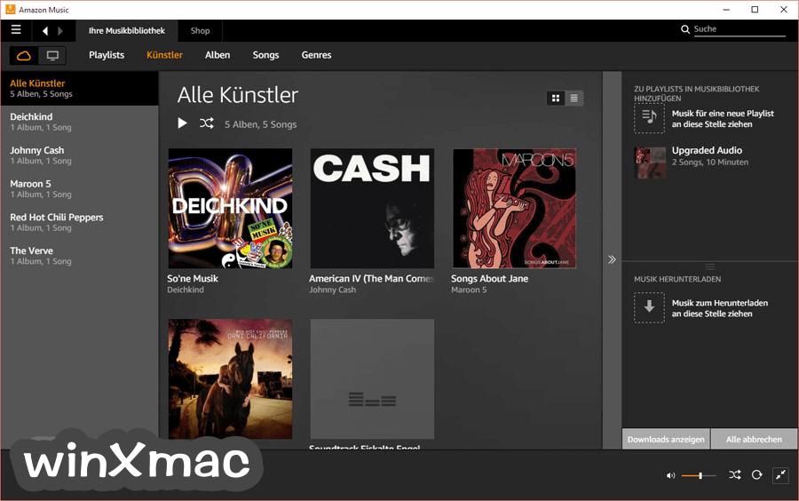 Amazon Music Screenshot 2