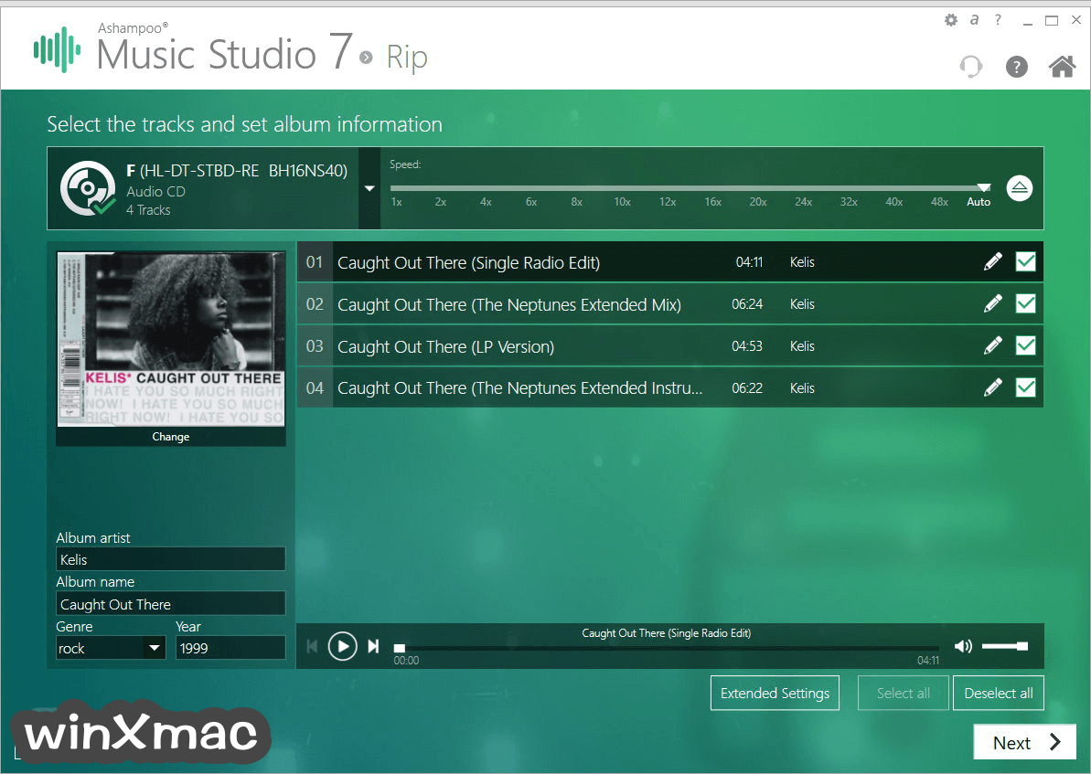 Ashampoo Music Studio Screenshot 2
