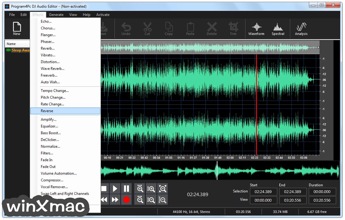 DJ Audio Editor Screenshot 3
