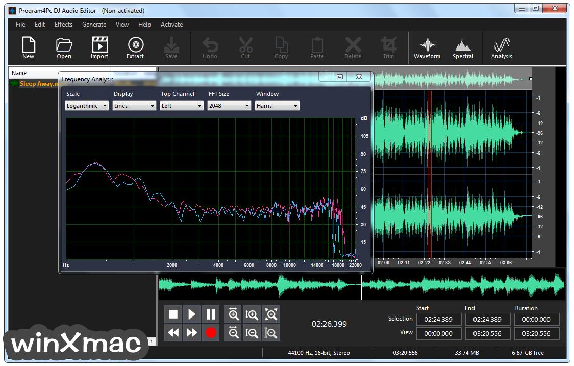 DJ Audio Editor Screenshot 4