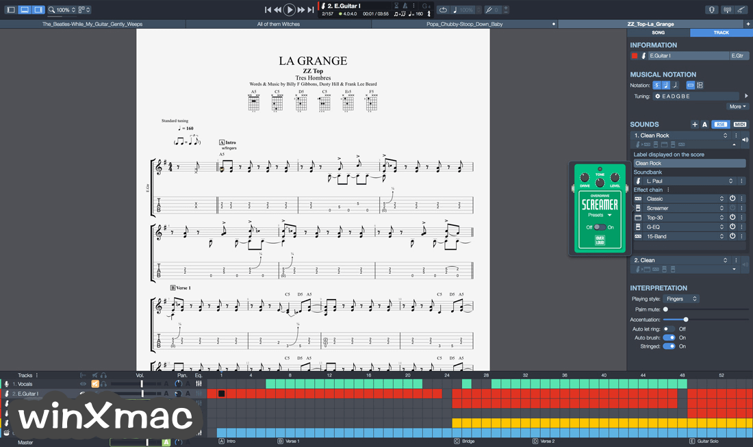 Guitar Pro Screenshot 4