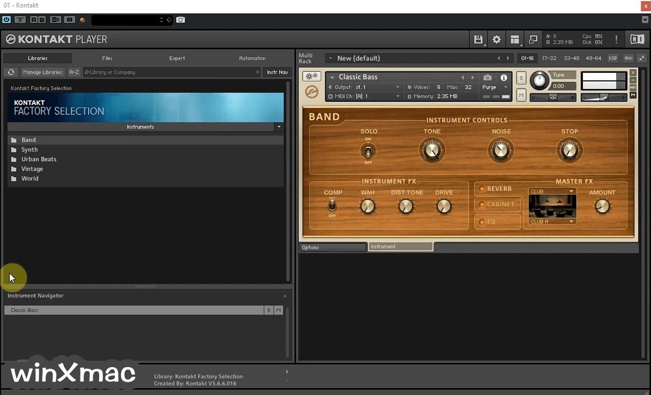 Kontakt Player Screenshot 1