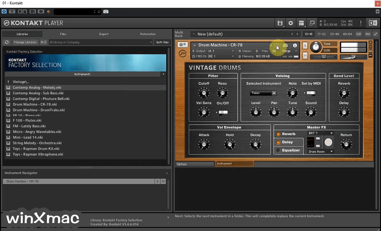Kontakt Player Screenshot 4
