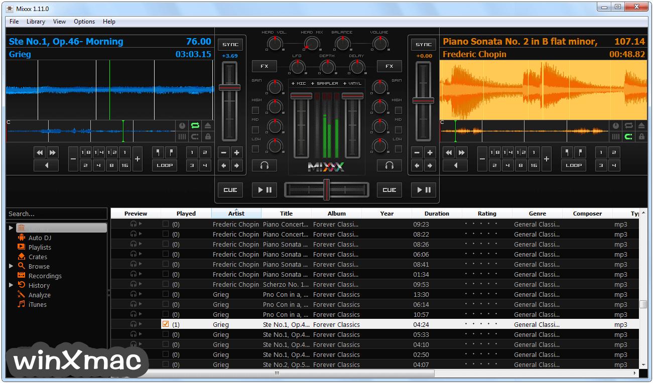 Mixxx (64-bit) Screenshot 1