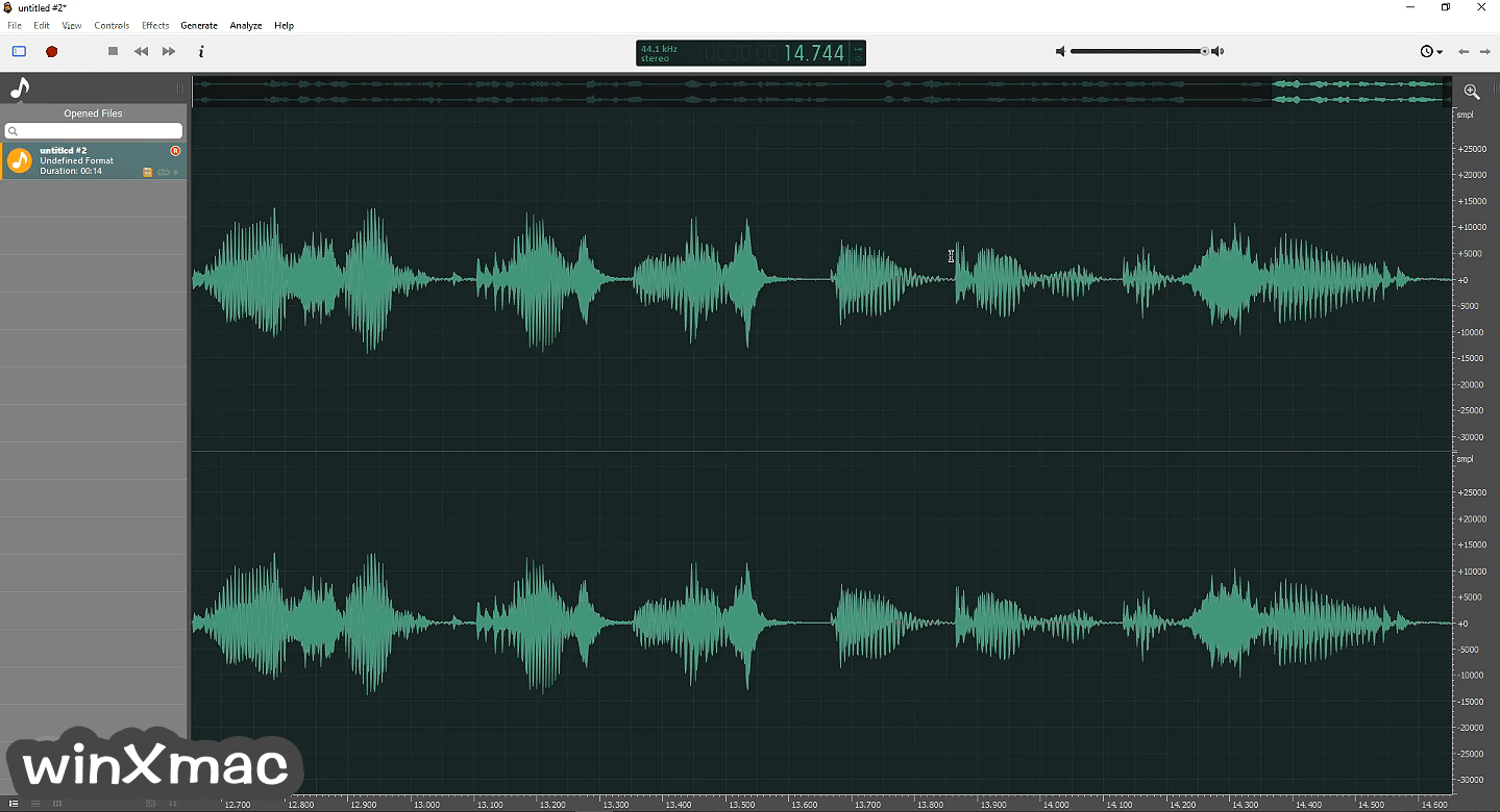 Ocenaudio (64-bit) Screenshot 2
