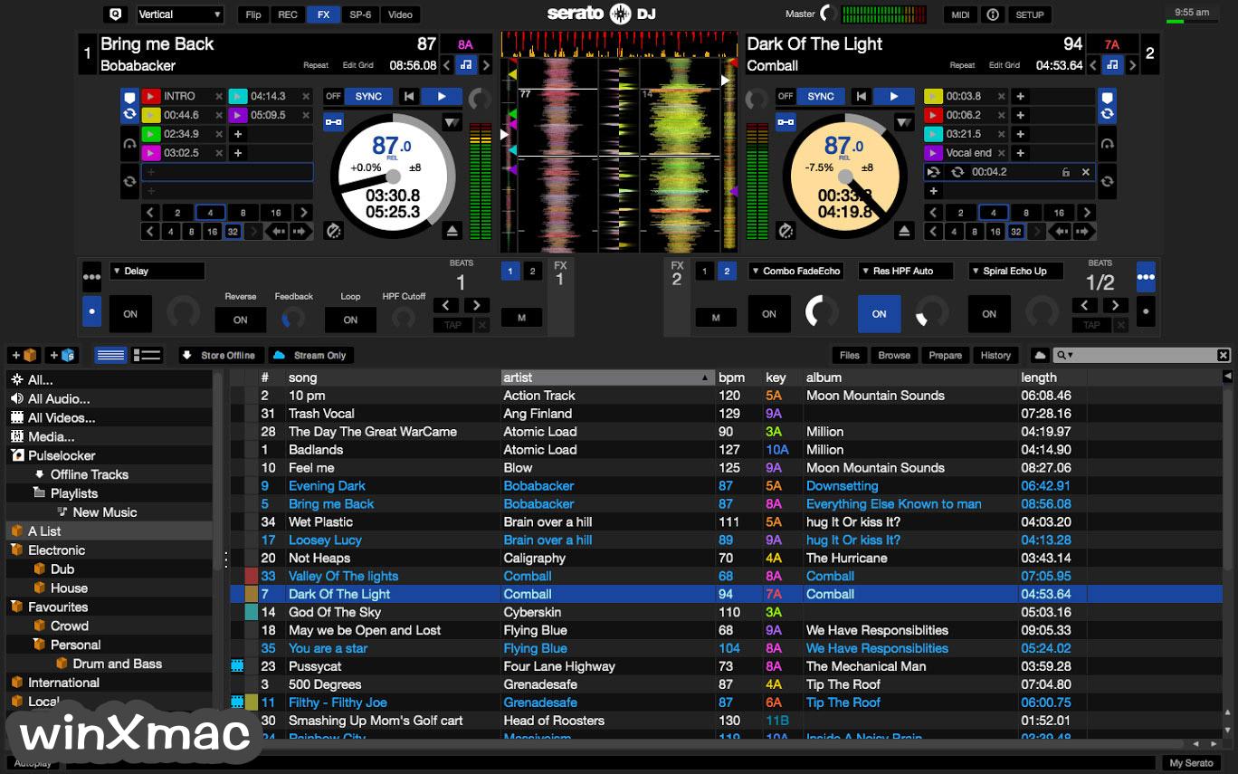 Serato DJ Screenshot 1