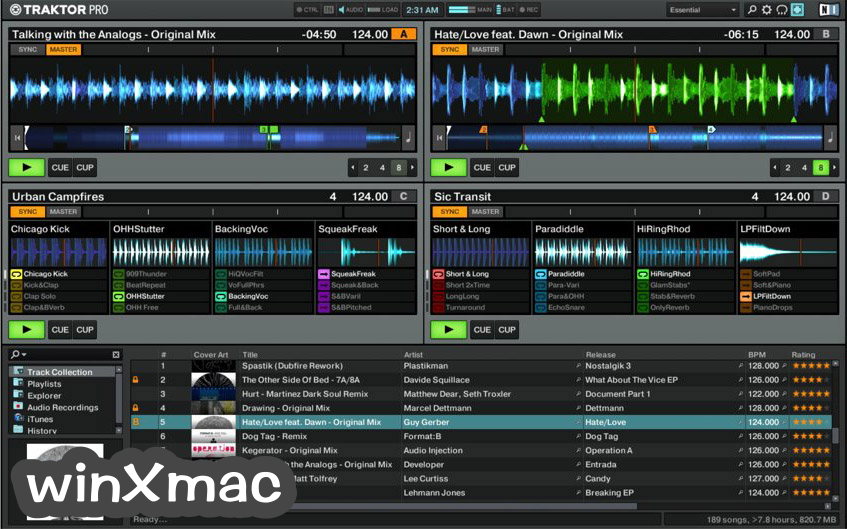 Traktor DJ software Screenshot 4