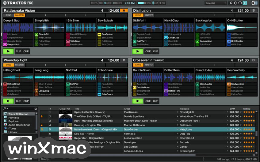 Traktor DJ software Screenshot 5