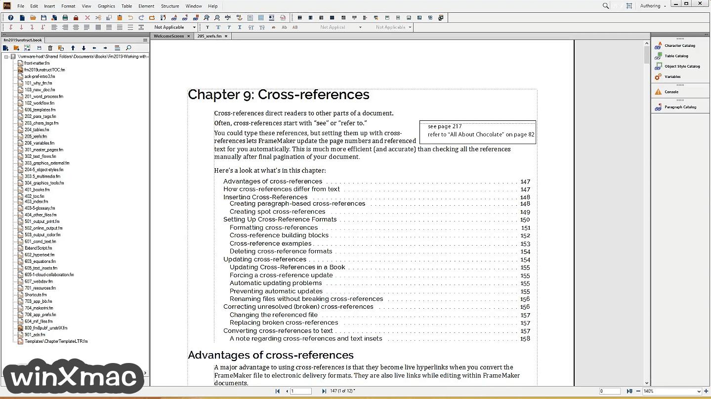 Adobe FrameMaker Screenshot 1
