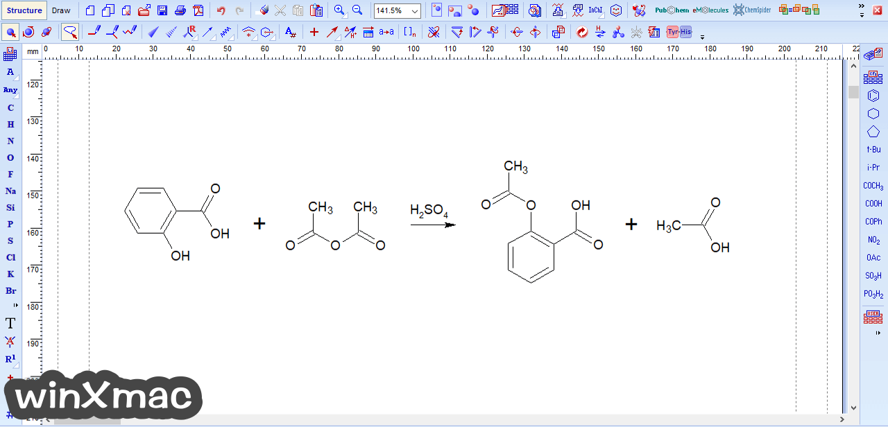ChemSketch Screenshot 2