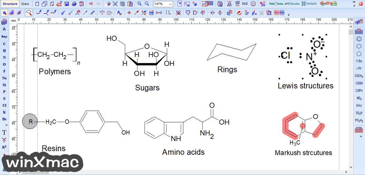 ChemSketch Screenshot 3