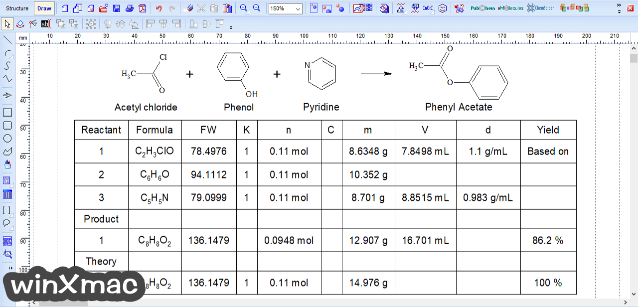 ChemSketch Screenshot 4