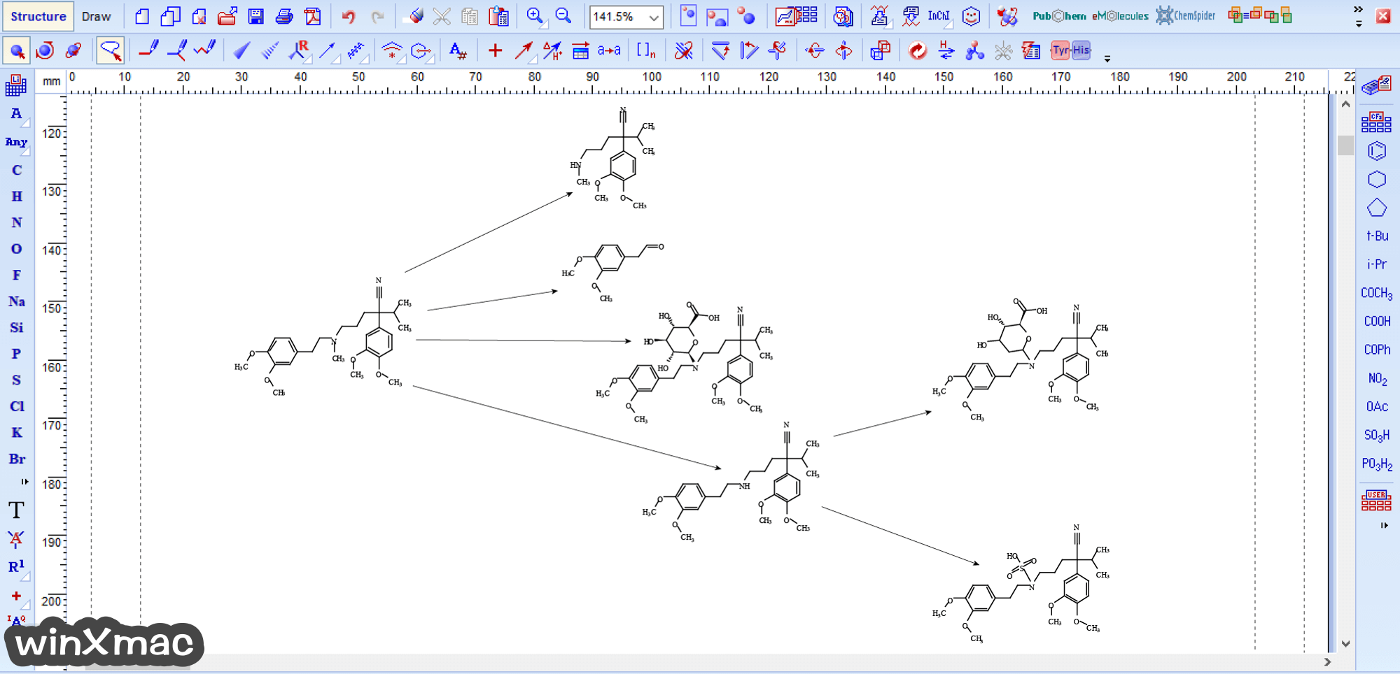 ChemSketch Screenshot 5