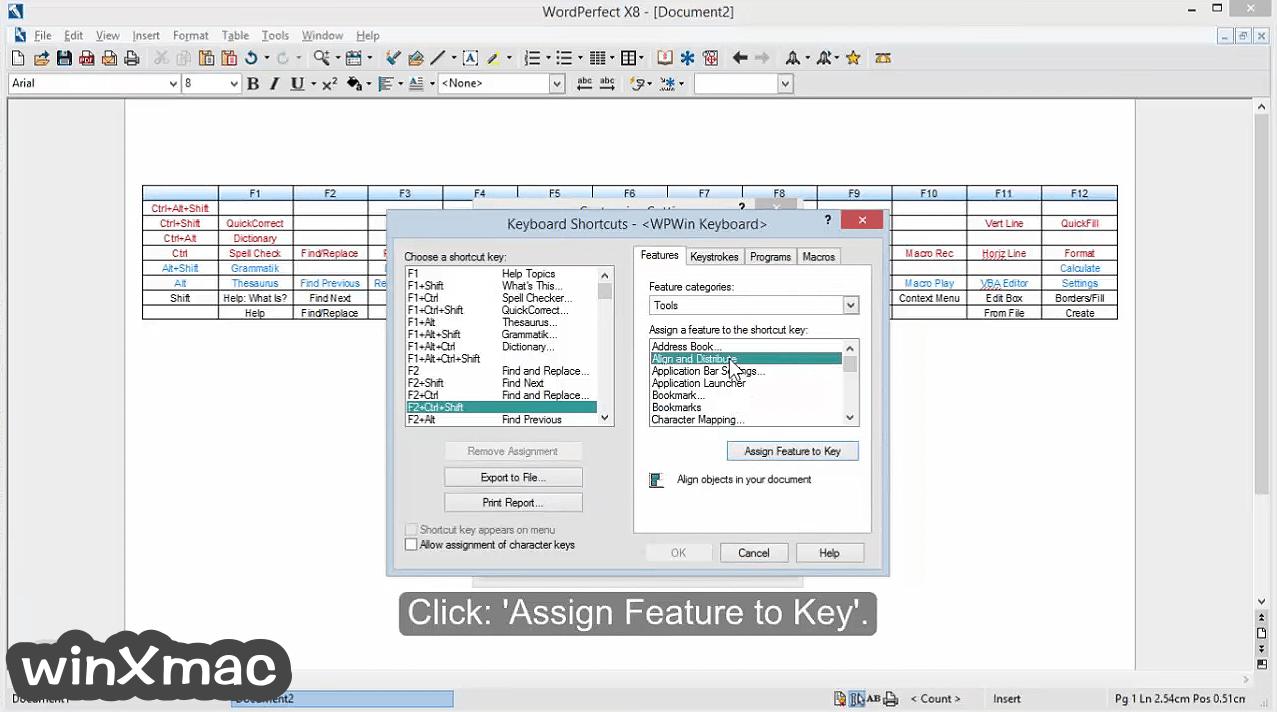 Corel WordPerfect Office Screenshot 3