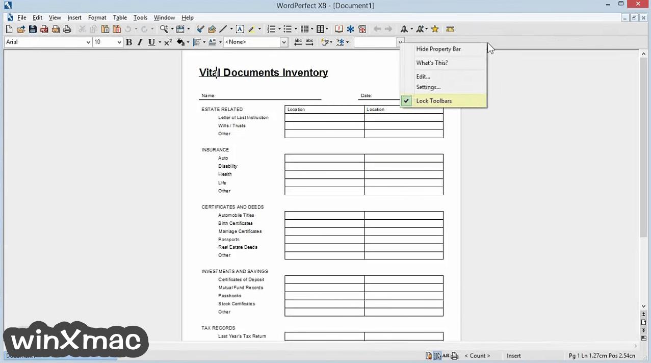 Corel WordPerfect Office Screenshot 5