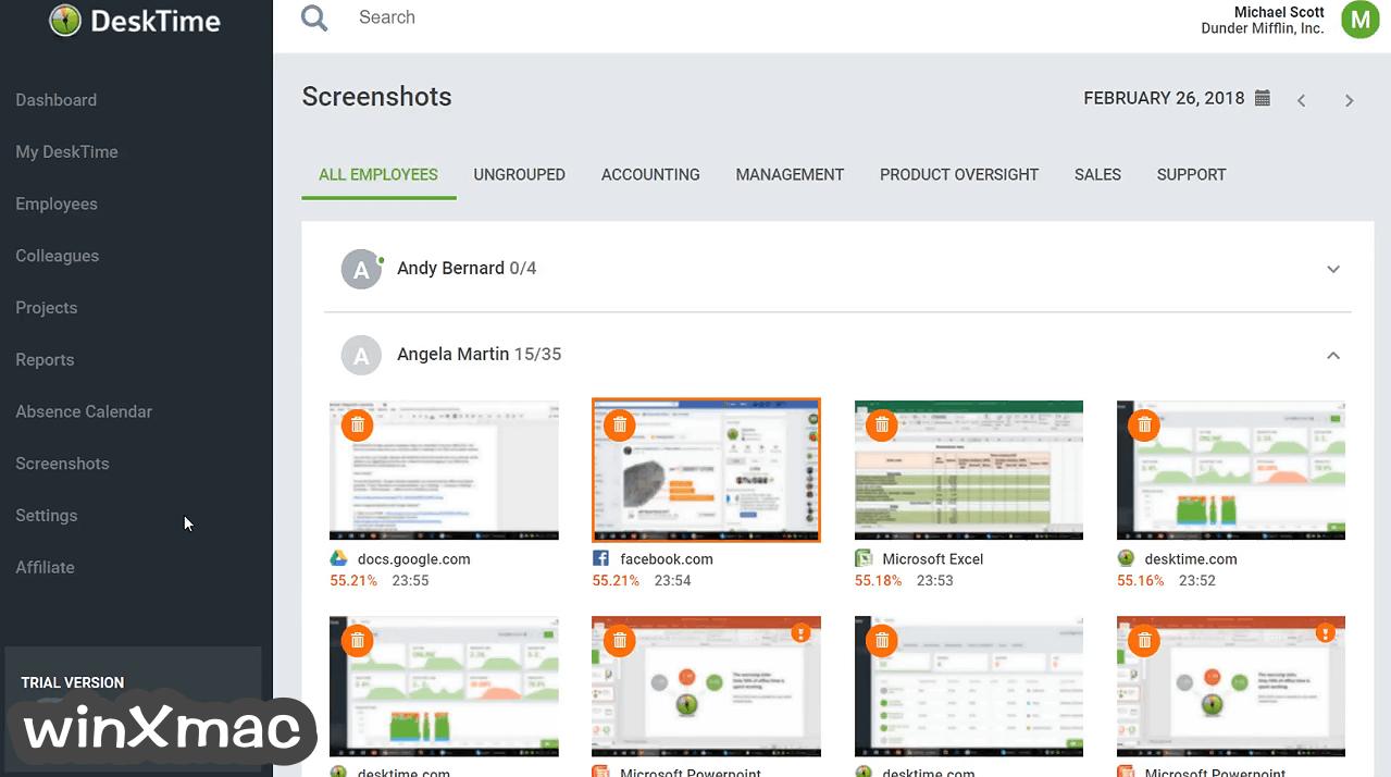 DeskTime Screenshot 5