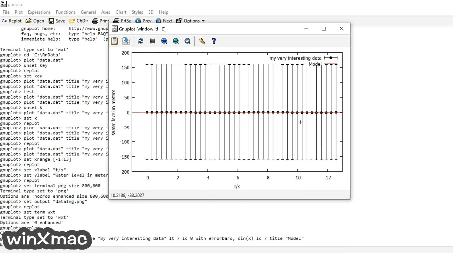 Gnuplot (64-bit) Screenshot 3