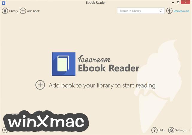 IceCream Ebook Reader Screenshot 1