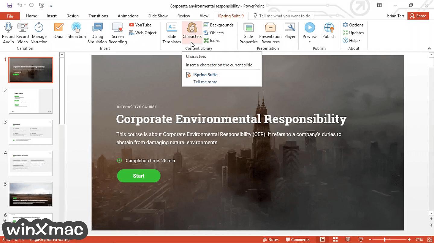 iSpring Suite Screenshot 1