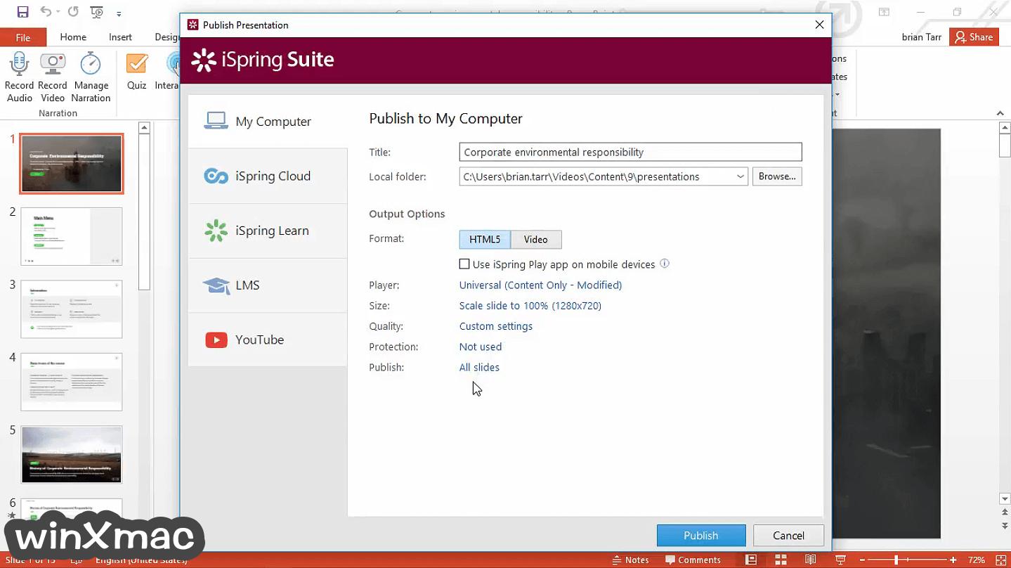iSpring Suite Screenshot 5