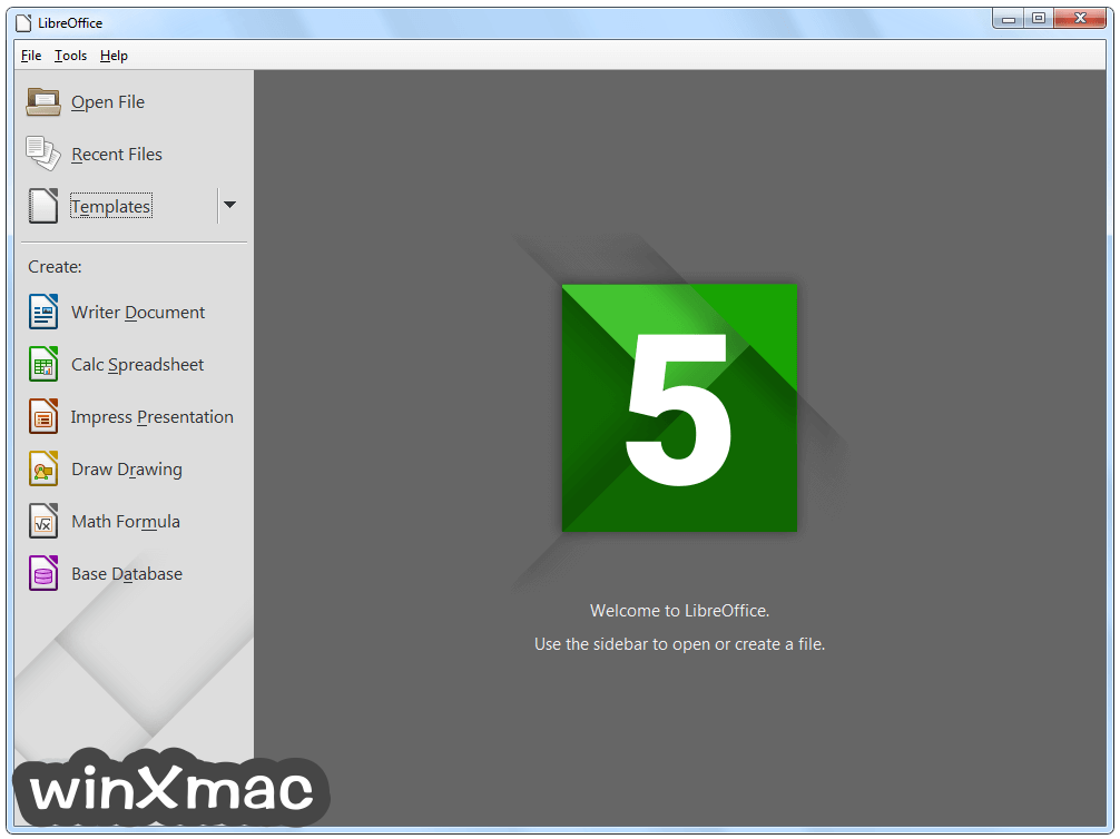 LibreOffice (64-bit) Screenshot 1