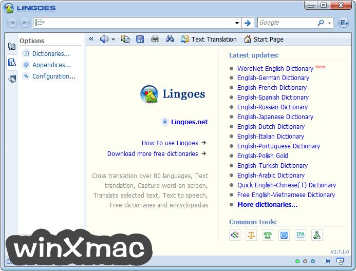 Lingoes (32-bit) Screenshot 1