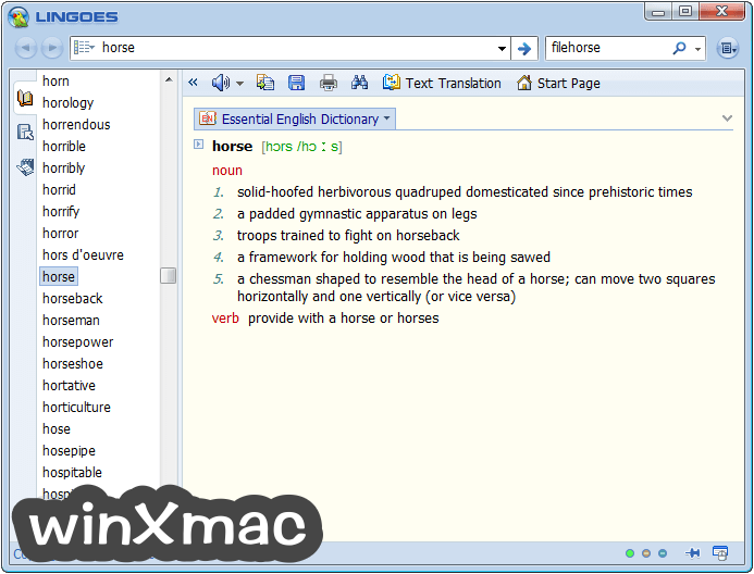 Lingoes (32-bit) Screenshot 2