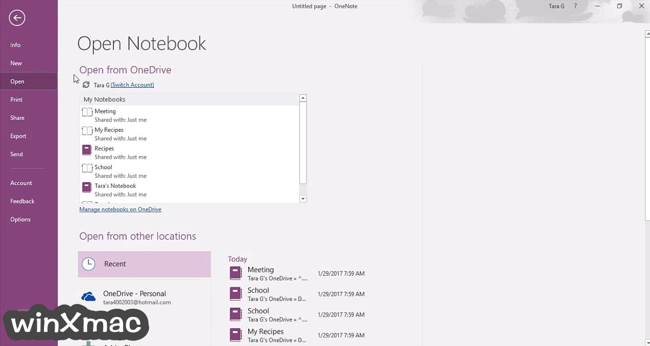 Microsoft OneNote (32-bit) Screenshot 2