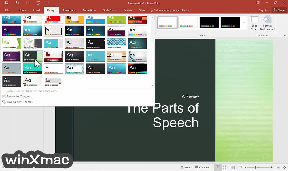 Microsoft PowerPoint Screenshot 4