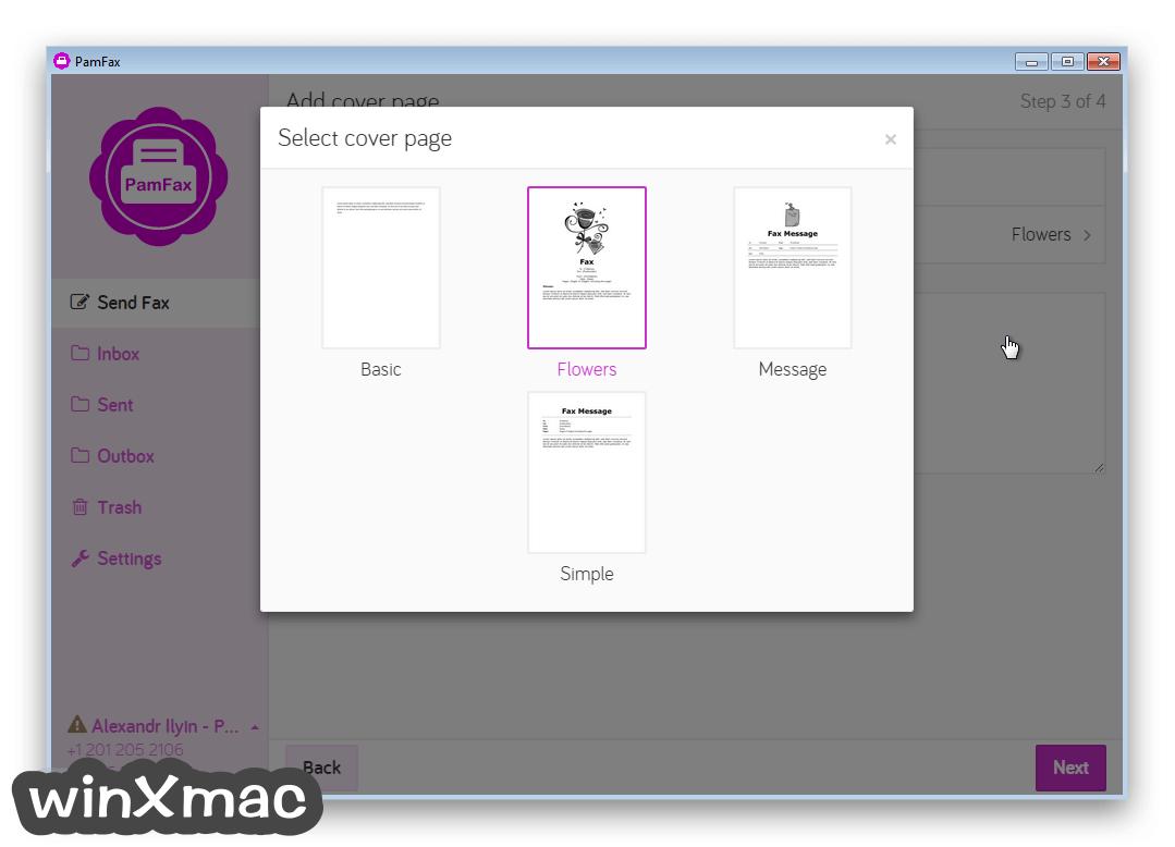 PamFax (64-bit) Screenshot 3