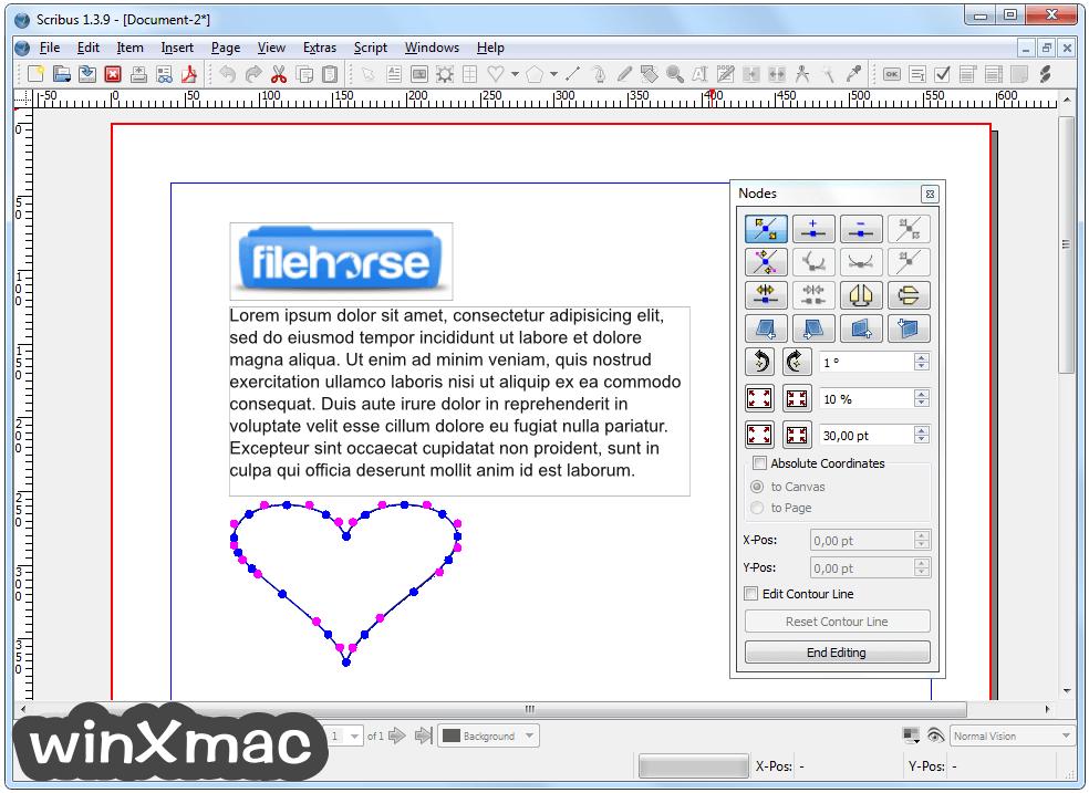 Scribus (64-bit) Screenshot 3