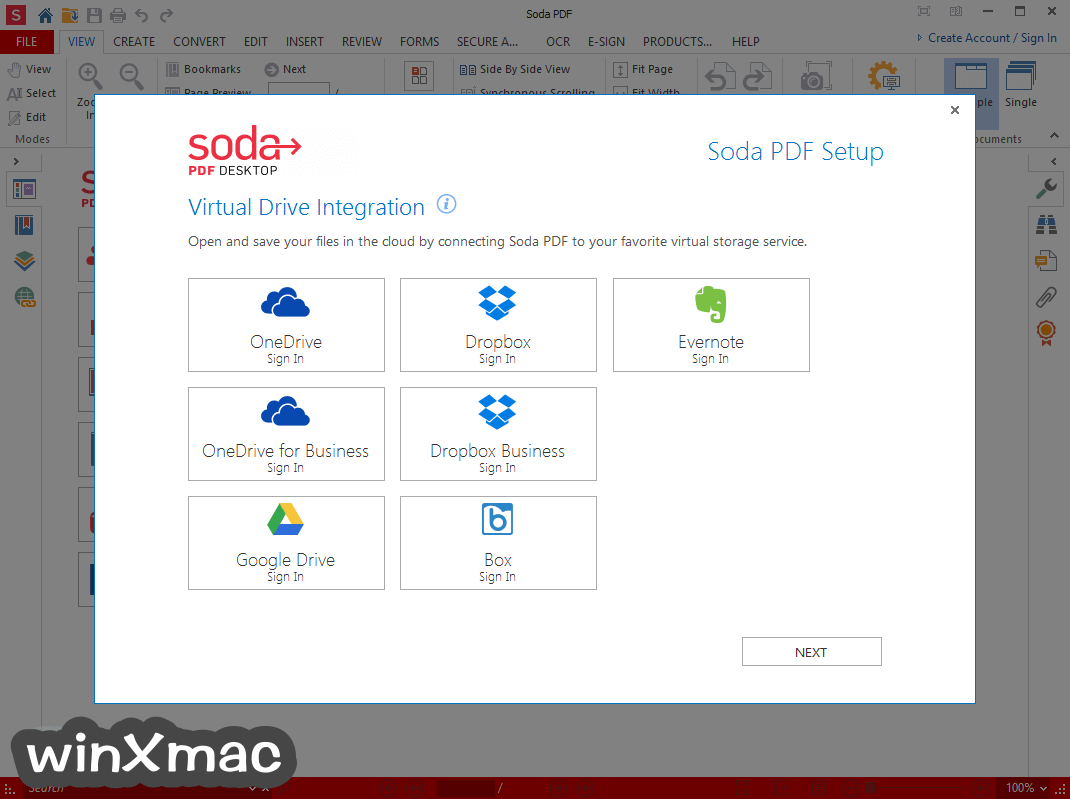 Soda PDF Desktop Free Screenshot 1