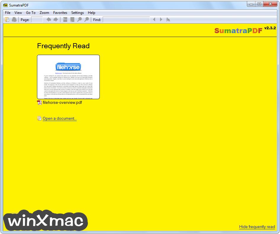 Sumatra PDF (64-bit) Screenshot 1