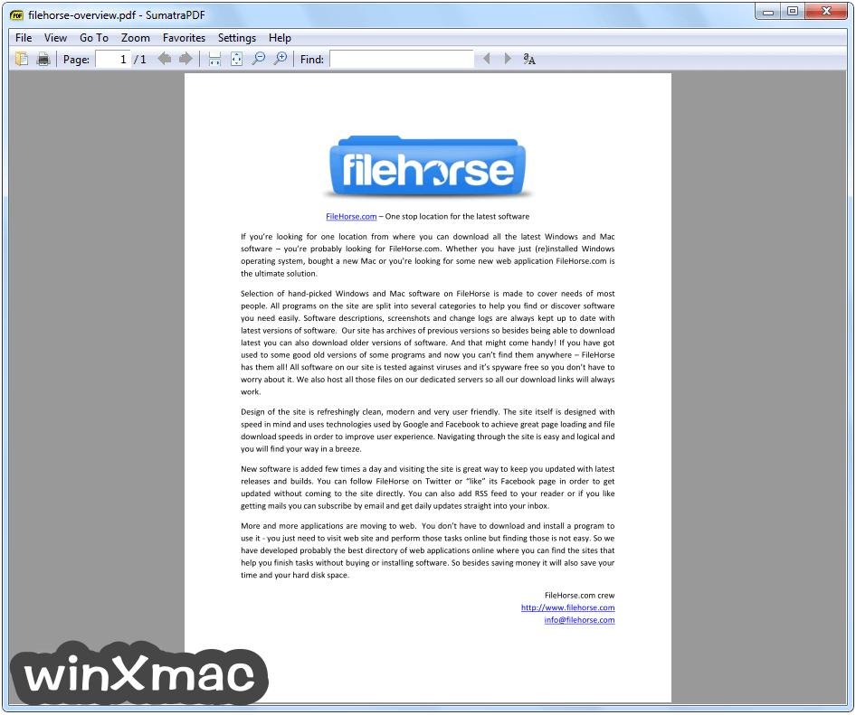 Sumatra PDF (64-bit) Screenshot 2