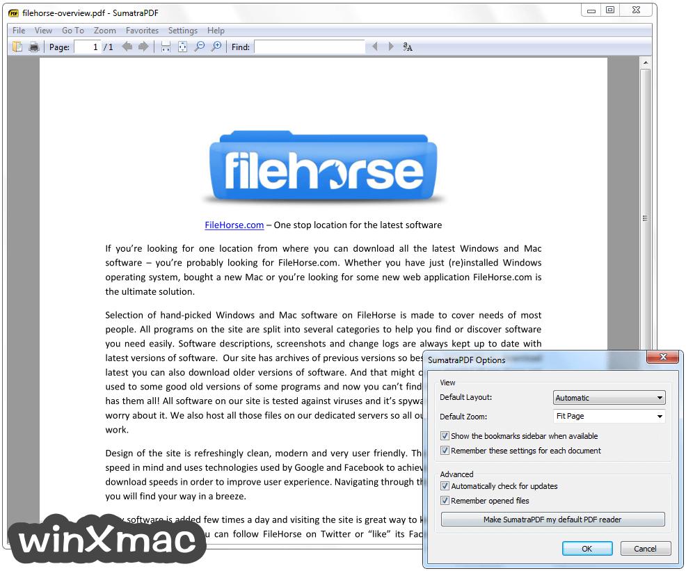 Sumatra PDF (64-bit) Screenshot 3