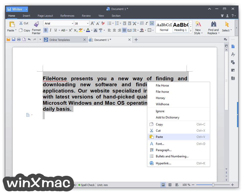WPS Office Pro Screenshot 1